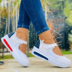 2021 Hot Sale Women's Flat Shoes Summer Mesh Breathable Casual Flats Sneakers