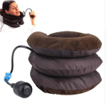 Cervical Neck Traction Device and Neck Brace, Adjustable Neck Support and Neck Stretcher for Spine Alignment and Neck Pain Relief
