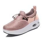 Autumn Women Shoes Air Cushion Soft Slip-On Wedge Premium Sneakers