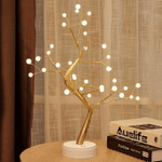 Bonsai Tree Light - Fairy Light Spirit Tree Lamp with 108 LED Lights - DIY Artificial Tree Lamp, USB/Battery Touch Switch, Deco of Children's Room, Bedroom, Living Room, Party Wedding