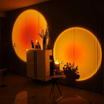 Sunset Lamp, Sunset Projection Lamp, 180 Degree Rotation Romantic Led Night Light Projector for Photography/Selfie/Home/Living Room/Bedroom Decor