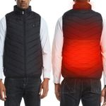 Heated Vest for Men Women, Unisex Warming Heated Vest Rechargeable and Washable, Usb Electric Smart Heating Vest