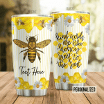 Bee Personalized Tumbler