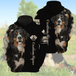 Bernese Mountain Customize All Over Print Hoodie