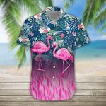 3D Flamingo Hawaii Shirt