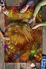 Affenpinscher Dog Colorful Jigsaw Puzzles 21 X 15 - 500 Pieces All Products