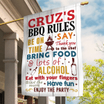 BBQ Rules - Customize Flag