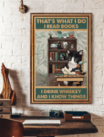 That What I Know - Whiskey Cat 12 X 18