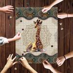 Giraffe Mandala - Puzzle
