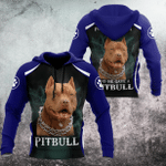 Pit Bull Lovers 3D All Over Print Hoodie