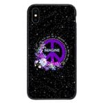 Custom Glass Phone Case Cover You May Say Im A Dreamer Iphone / X Collection