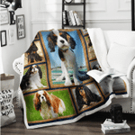 Cavalier King Charles Spaniels Blanket X - Large ( 80 X 60 Inches / 200 150 Cm) All Products