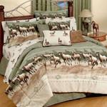 Horse 01 Bedding Set Twin