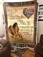 To my wife - I choose you message blanket