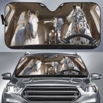 Appaloosa Horse Family Car Sunshade 57 X 27.5
