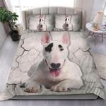 Bull Terrier Bedding Set Us Twin