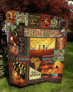 African Culture Quilt Blanket