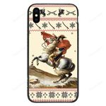 Custom Glass Phone Case Cover Napoléon Bonaparte Iphone / X Collection