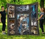 Wolves 3D Quilt Blanket
