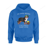 Dog Gift Idea Bernese Mountain Irish St Patrick Day T-Shirt - Standard Hoodie S / Royal Dreamship