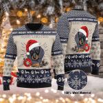 Dachshund Woof - Christmas Wool Sweater