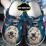 Poodle Customize Croc Clog
