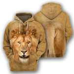 Lion - 3D All Over Printed Hoodie