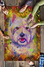 Westie West Highland White Terrier Dog Colorful Jigsaw Puzzles 21 X 15 - 500 Pieces All Products