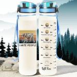 Elephant - I Hate People Tracker Bottle 32 Oz