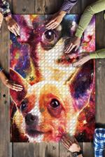 Chihuahua Galaxy Jigsaw Puzzle
