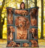 Dachshund 3D Fleece Blanket