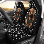 Dachshund Pocket - Car Seat Cover Universal Fit