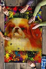 Pekingese Dog Colorful Jigsaw Puzzles 21 X 15 - 500 Pieces All Products