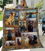 Labrador Retriever 3D Quilt Blanket