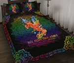 Rise From Your Ashes Quilt Bed Set