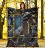 Dinosaur 3D Fleece Blanket