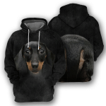 Dachshund Body All Over Printed Hoodie