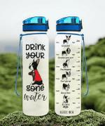 Drink You Gone Water Boston Terrier Tracker Bottle 32Oz 32 Oz