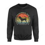 Dog Gift Idea Best Chihuahua Dad Ever Lover T-Shirt - Standard Fleece Sweatshirt S / Black Dreamship