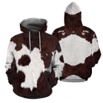 Amazing Cows All Over Printed Hoodie