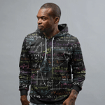 Math All Over Printed Hoodie HPV01