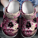 Breast Cancer Croc Clog