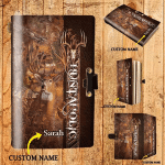 Huntaholic - Personalized Leather Notebook