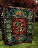 Celtic Quilt Blanket