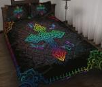 Hpv02 Jesus Cross Quilt Bedding Set Twin