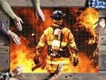 Firefighter Jigsaw Puzzle 21 X 15 (500 Pcs)