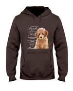 Poodle Dog Together Hoodie