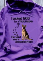 German Shepherd - True Friend Hoodie