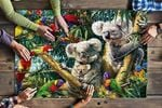 Koala Family Jigsaw Puzzles 21 X 15 - 500 Pieces All Products
