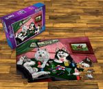 Husky Playing Poker Puzzle
